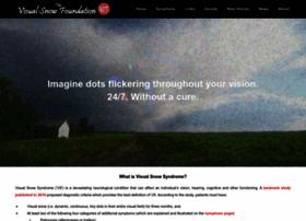 visualsnowsyndrome.com