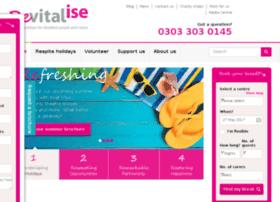 vitalise.org.uk