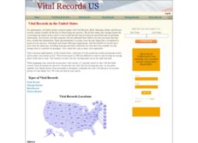 vitalrecordsus.com
