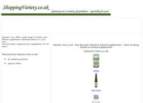 vitamin-mineral-supplements.shoppingvariety.co.uk