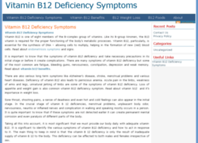 vitaminb12deficiencysymptoms.org