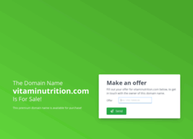vitaminutrition.com