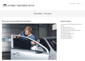 vitres-teintees-auto.fr