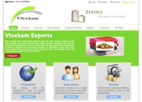 vivekamexports.com