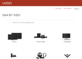 vizio.custhelp.com