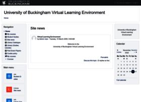vle.buckingham.ac.uk