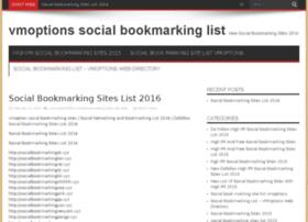 vmoptionssocialbookmarkinglist.sseocompany.com