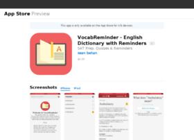 vocabreminder.com