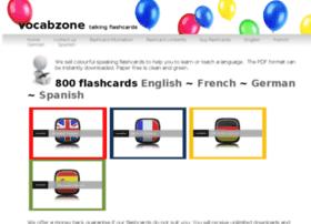 vocabzone.com