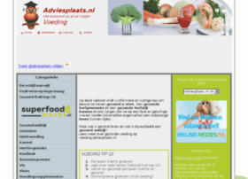 voeding.adviesplaats.nl