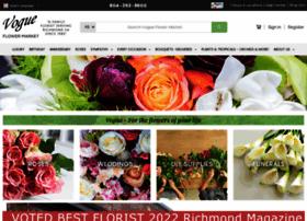 vogueflowers.com