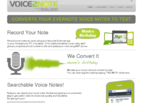 voice2note.dial2do.com