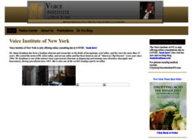 voiceinstituteofnewyork.com