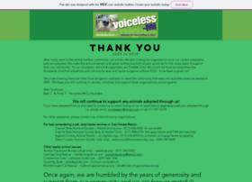 voiceless-mi.com