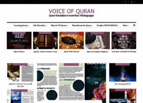 voiceofquran.info