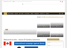 voiceofsandrasolomon.com