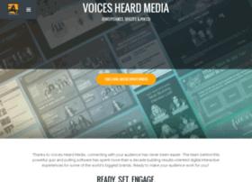 voicesheardmedia.com