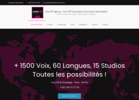 voix-off-agency.com