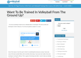 Volleyball-training-ground.com