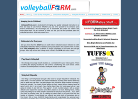 volleyballform.com