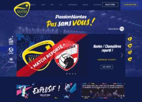 volleyballnantes.com