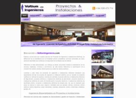voltiumingenieros.com