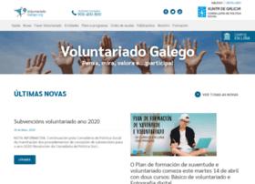 voluntariadogalego.org