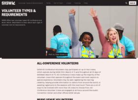 volunteer.sxswedu.com