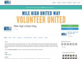 volunteer.unitedwaydenver.org