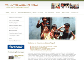 volunteeralliancenepal.org