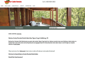 volunteercabinrentals.com