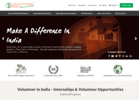 volunteeringindia.com