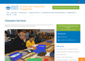 volunteerservices.dpsk12.org
