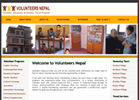volunteersnepal.com