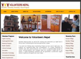 volunteersnepal.com