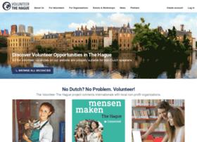 volunteerthehague.nl