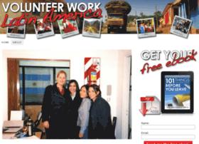 volunteerworklatinamerica.com