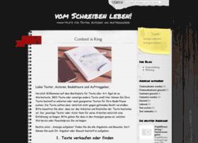 vom-schreiben-leben.de