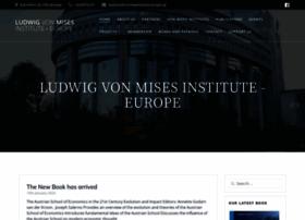 vonmisesinstitute-europe.org
