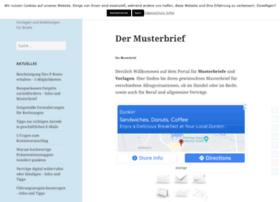 vorlage-musterbriefe.de