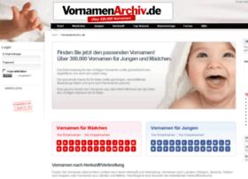 vornamenarchiv.de