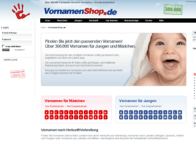 vornamenshop.de