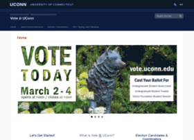vote.uconn.edu