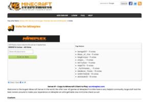 vote2.mineplex.com