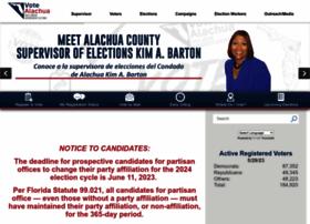 votealachua.com