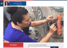 votealejandra.nationbuilder.com