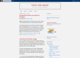 votefordavid.blogspot.com