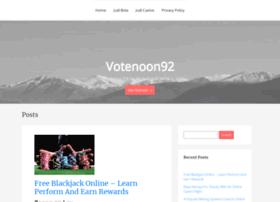 votenoon92.com