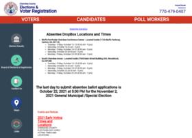 voter.cherokeega.com