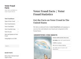 voterfraudfacts.com